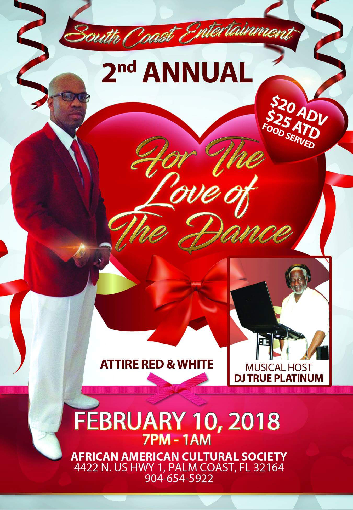 For the Love of the Dance flyer